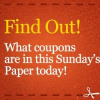 Sunday Coupon Insert Preview 3/9/14