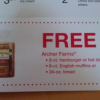 {Hot Coupon Alert} Free Archer Farms Bread Coupon in Today's Newspaper 9/21