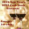 {Giveaway} 2012 New Year's $225 Cash Stash (Ends 1/16 at 12:01 EST)