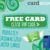 {WOW!} Free Personalized Easter Card with Free Shipping from Cardstore.com 3/26 & 3/27 – Only 50,000 Available Each Day!