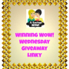 GIVEAWAYS: Winning WOW! Wednesday Giveaway Linky 1/29/14