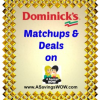 Dominick's Matchups and Deals 10/16-10/22/13
