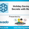 Free Holiday Savings Secrets Workshop 10/26 – Aurora, IL
