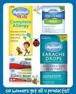 Hyland's Allergy Products