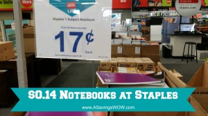 #BTS Staples Notebooks Deal