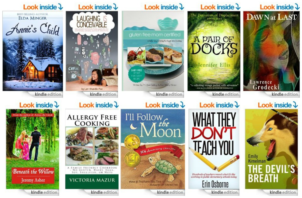 10 Free Kindle Books 8-31-14