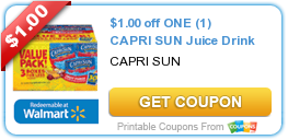 Capri Sun Coupon #backtoschool #coupon