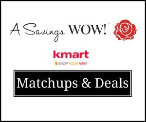 Kmart Matchups and Deals