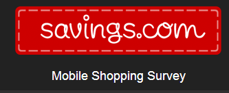 Savings.com Mobile Shopping Survey