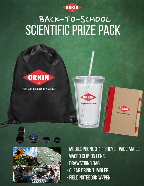 Orkin Giveaway
