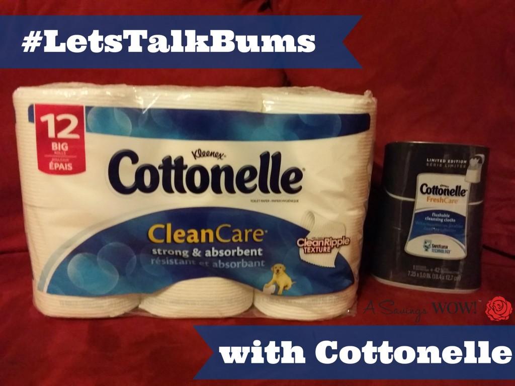 #LetsTalkBums Cottonelle