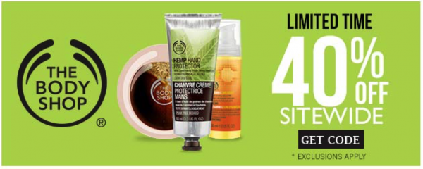 The Body Shop Special Offer