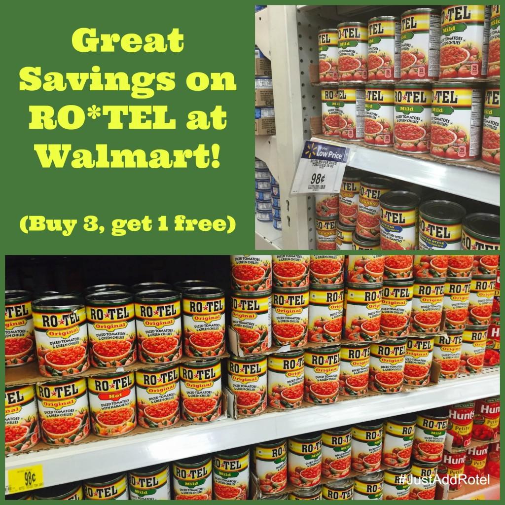 #JustAddRotel #CollectiveBias #Walmart