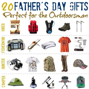 20 #FatherSDay Gifts for the Outdoorsman