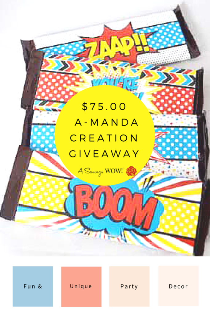 A-Manda Creation Giveaway