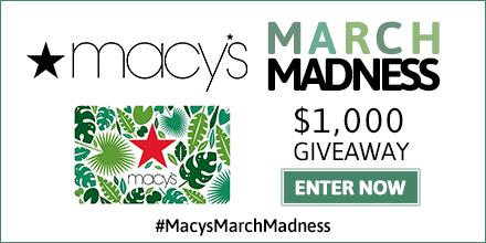 #MacysMarchMadness