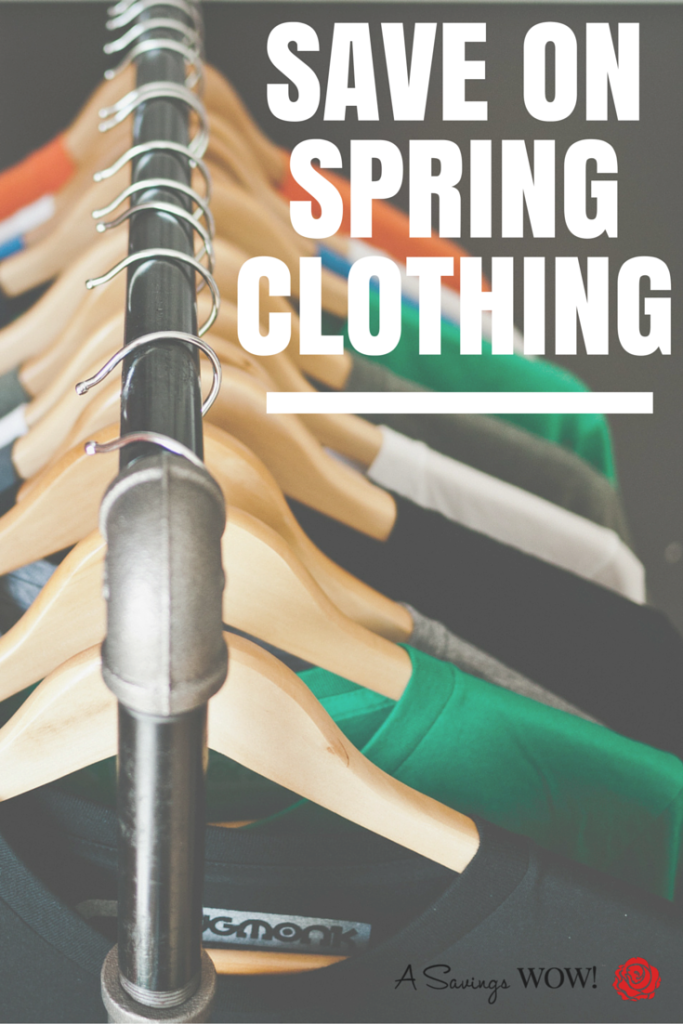 Save on Spring Clothing