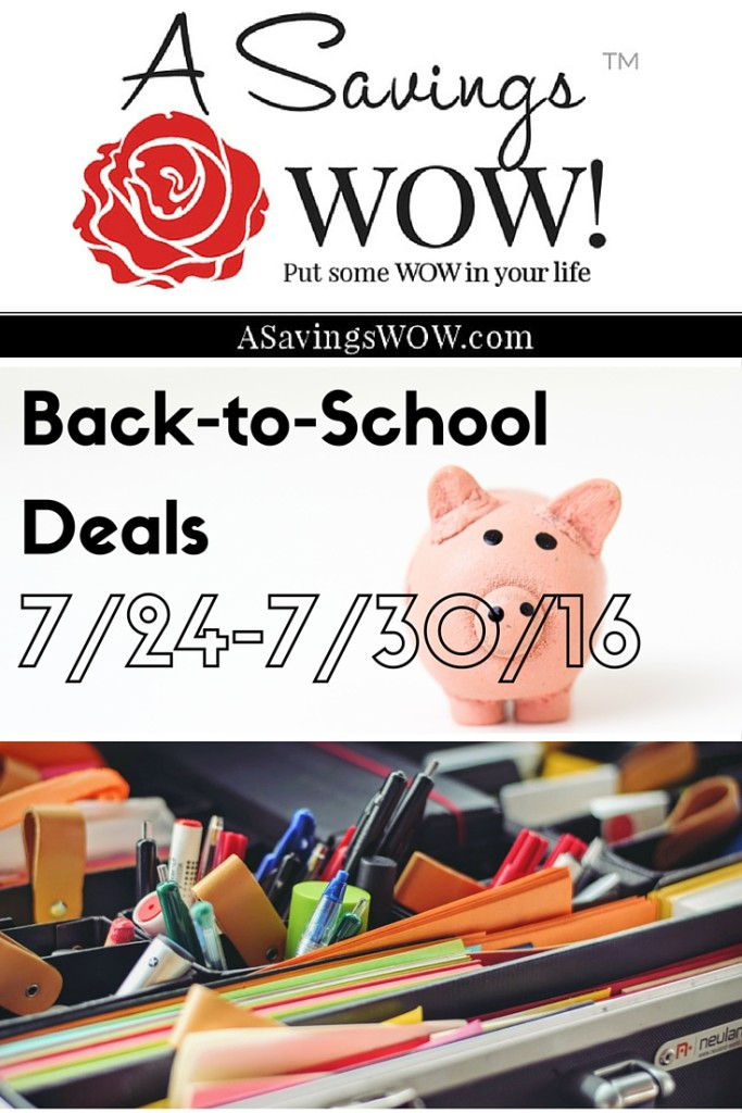 Back-to-School Deals
