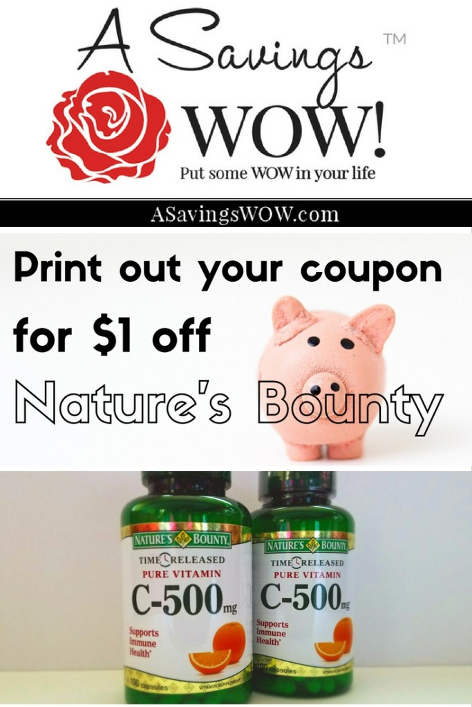 Nature's Bounty Deal
