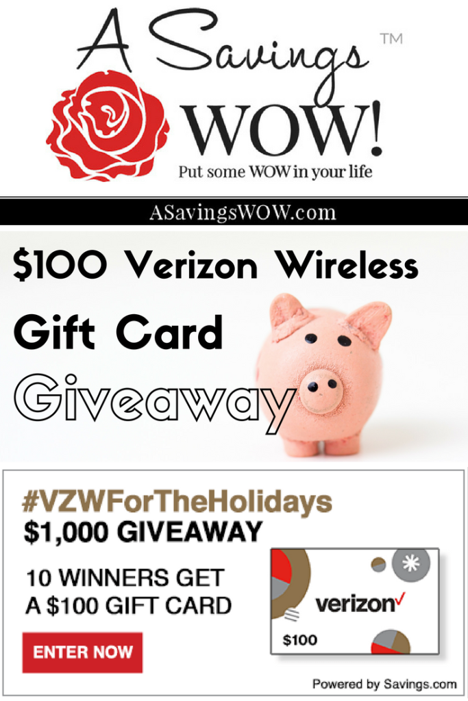 Verizon Wireless Giveaway