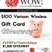 Verizon Wireless Giveaway